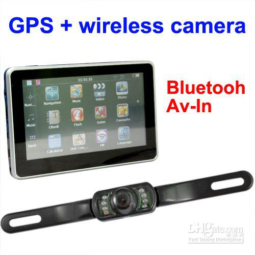 4.3 inch gps 4GB TF memory Free Map gps with wireless reverse camera.jpg
